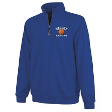 GV 2020-21 Girls Basketball 1/4Zip (Royal)