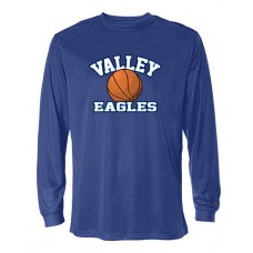 GV 2020-21 Girls Basketball Dry-fit Long-sleeved T (Royal)