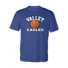 GV 2020-21 Girls Basketball Dry-Fit Short Sleeve Tee (Royal)