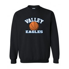 GV 2020-21 Girls Basketball Crewneck Sweatshirt (Black)