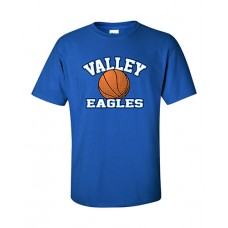 GV 2020-21 Girls Basketball Short-sleeved T (Royal)