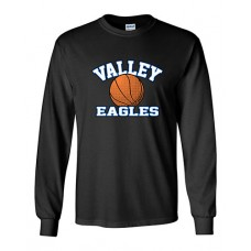 GV 2020-21 Girls Basketball Long-sleeved T (Black)
