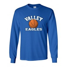 GV 2020-21 Girls Basketball Long-sleeved T (Royal)