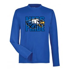 GVMS 2020 NMS Dry-fit Long-sleeved T (Royal)