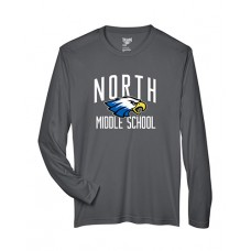 GVMS 2020 NORTH Dry-fit Long-sleeved T (Sport Graphite)