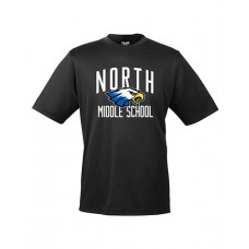 GVMS 2020 NORTH Dry-fit Short-sleeved T (Black)