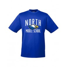 GVMS 2020 NORTH Dry-fit Short-sleeved T (Royal)