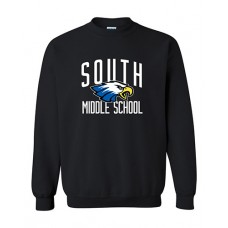 GVMS 2020 SOUTH Crewneck Sweatshirt (Black)