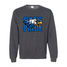 GVMS 2020 SMS Crewneck Sweatshirt (Dark Heather)