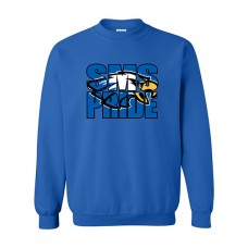 GVMS 2020 SMS Crewneck Sweatshirt (Royal)