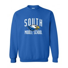 GVMS 2020 SOUTH Crewneck Sweatshirt (Royal)