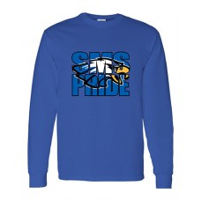 GVMS 2020 SMS Long-sleeved T (Royal)