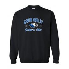 GV 2020-21 Swim Crewneck Sweatshirt (Black)