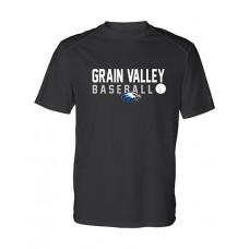 GV Baseball Dry-fit Short-sleeved T (Black)