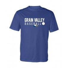 GV Baseball Dry-fit Short-sleeved T (Royal)