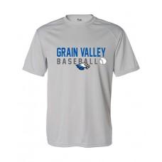 GV Baseball Dry-fit Short-sleeved T (Silver)