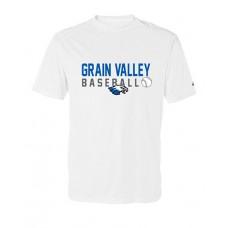 GV Baseball Dry-fit Short-sleeved T (White)