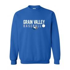 GV Baseball Crewneck Sweatshirt (Royal)