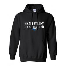 GV Baseball Hoodie Sweatshirt (Black)