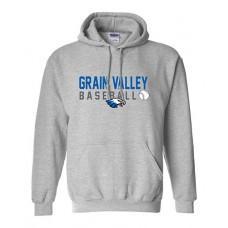 GV Baseball Hoodie Sweatshirt (Sport Grey)
