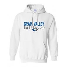 GV Baseball Hoodie Sweatshirt (White)