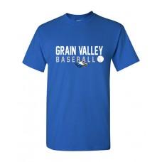 GV Baseball Short-sleeved T (Royal)