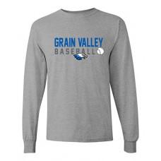 GV Baseball Long-sleeved T (Sport Grey)
