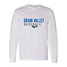 GV Baseball Long-sleeved T (White)