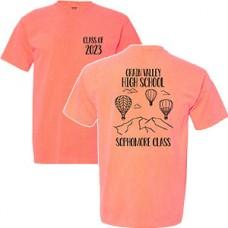 GV Class of 2023 T--Shirt (neon red orange)