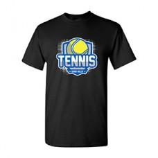 GV Tennis Short-sleeved T (Black: BALL)