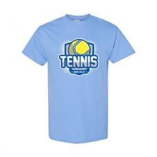 GV Tennis Short-sleeved T (Carolina Blue: BALL)