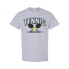 GV Tennis Short-sleeved T (Sport Grey: RACKETS)
